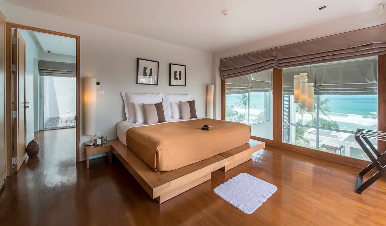 1 Bed Pool Suite Residence - King Size Bed with Sea Views - Aleenta Phuket Resort & Spa