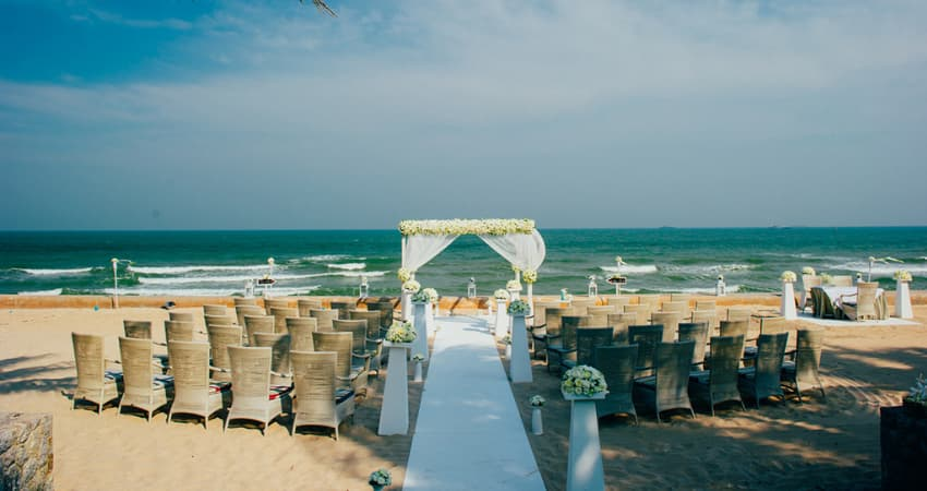 Sustainable Beach Wedding Pranburi Hua hin
