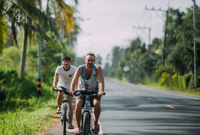 Bicycle Friendly Beach Resorts in Thailand