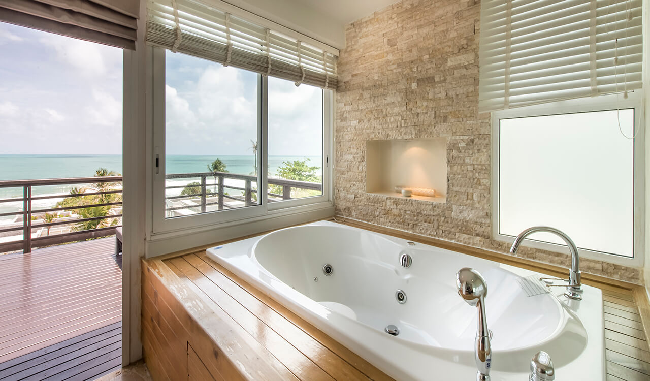 Aleenta Phuket Resort & Spa - One Bedroom Suite Bathroom