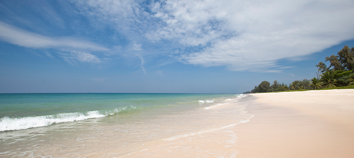Escape the Crowds and Head North to Natai Beach