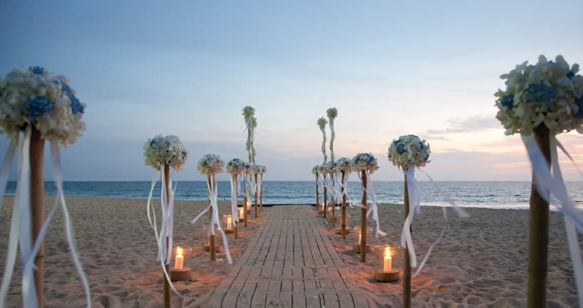 Gorgeous Pranburi Beach Weddings