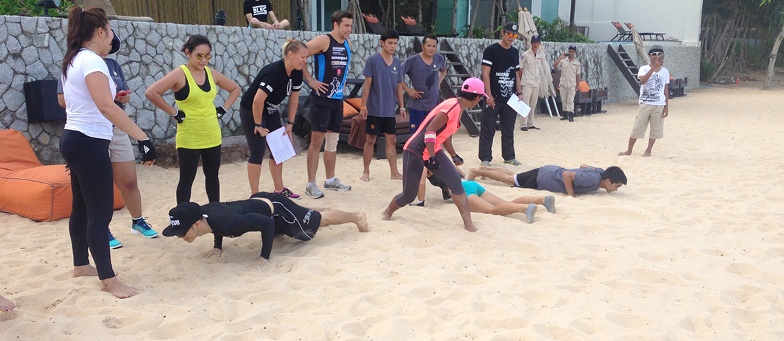 Natai Beach Bootcamp