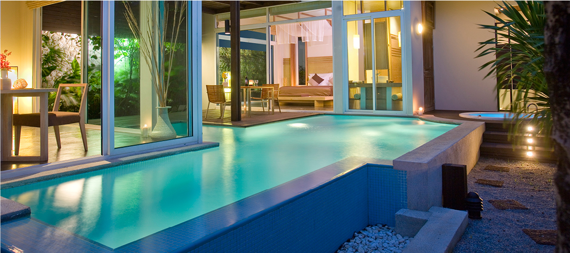 Pool Villas in Phuket at Aleenta Phuket Resort & Spa