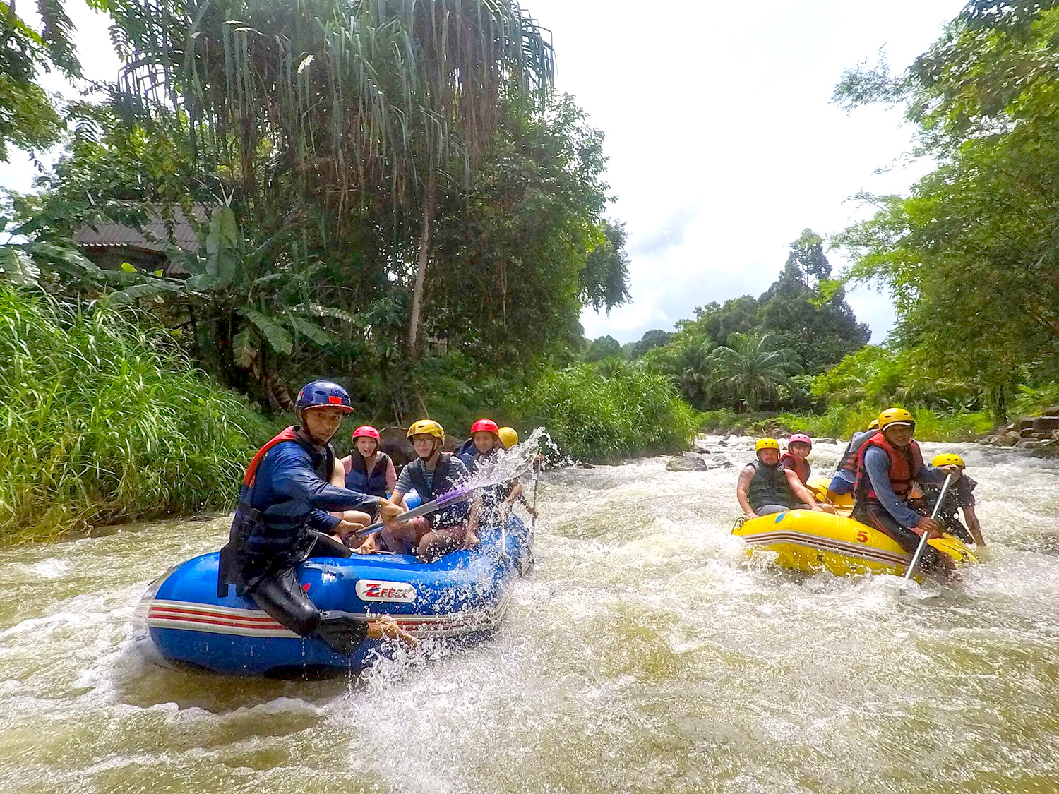 White Water Rafting tour in Phang Nga - Aleenta Phuket Resort & Spa