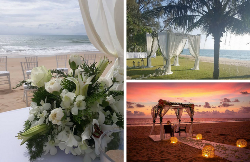 Beach Wedding Resort in Phuket