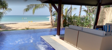 2 Bedroom beach pool Villa