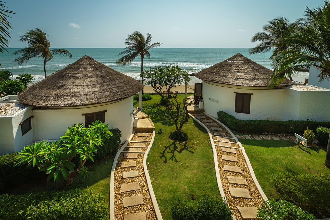 View Leading to Beachfront Pool Residences on Beach - Aleenta Hua Hin Resort