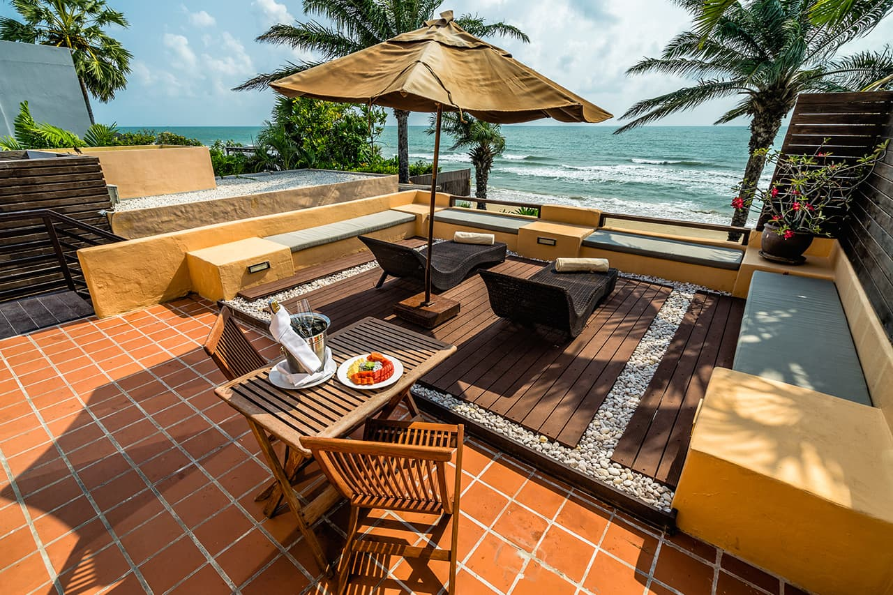 Frangipani Residence Sun Deck and Terrace - Aleenta Hua Hin Resort
