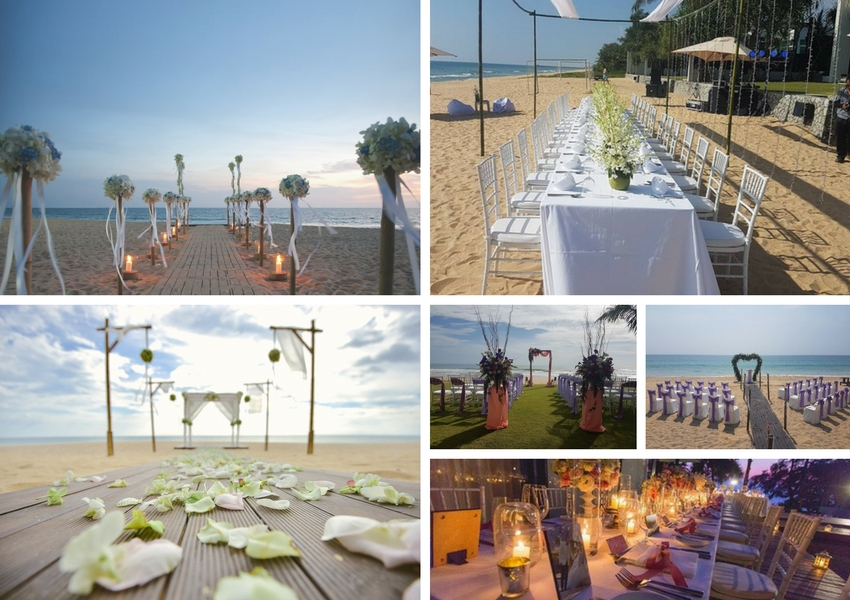Beach Resort Weddings in Phang Nga, Phuket