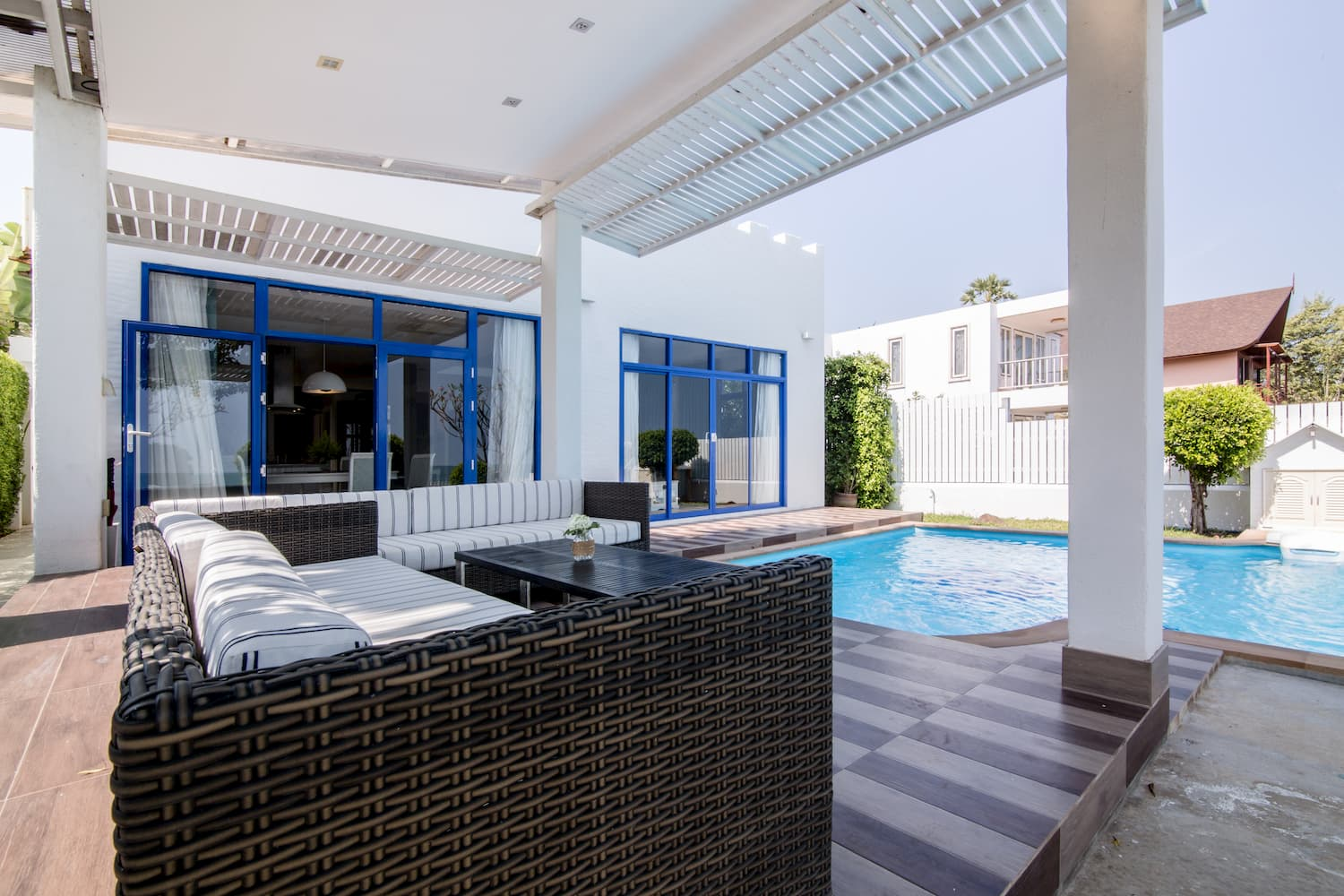 Four Bedroom Beach Villa Outdoor Lounge Area - Aleenta Hua Hin Resort