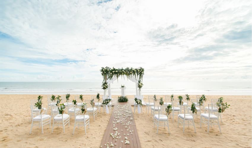 Weddings in Phang Nga Phuket - Aleenta Phuket Resort