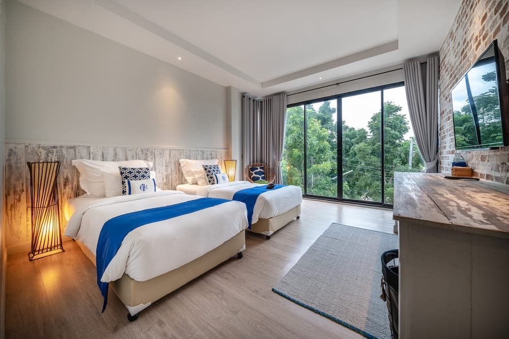 Hidden Gem Villa - Bedroom 2 - Twin Beds - Aleenta Hua Hin Resort & Spa