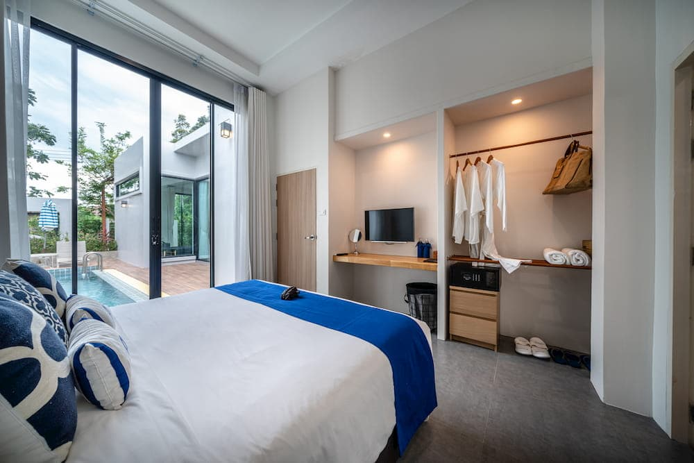 Hidden Gem Villa - Bedroom Pool View - Aleenta Hua Hin Resort & Spa