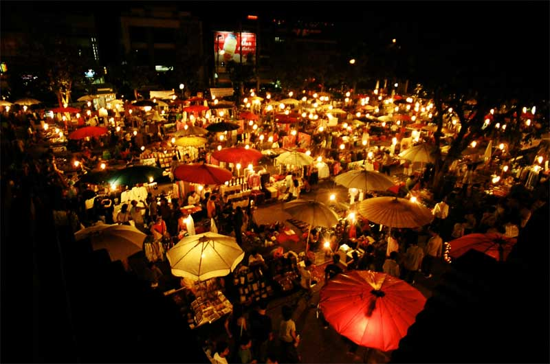 Nigh markets and Shopping in Hua Hin