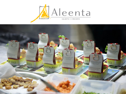 KIDNAPPING AND CULINARY QUIRKINESS: ALEENTA TAKES OVER BANGKOK RESTAURANT FOR A NIGHT OF FINE GASTRONOMY AND GOODWILL