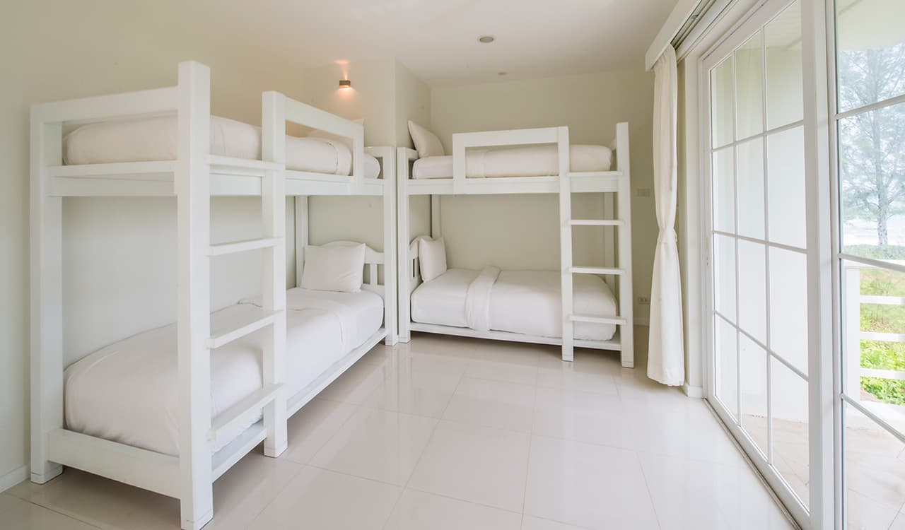 Villa Satis - Bunk Beds - Aleenta Phuket Resort & Spa