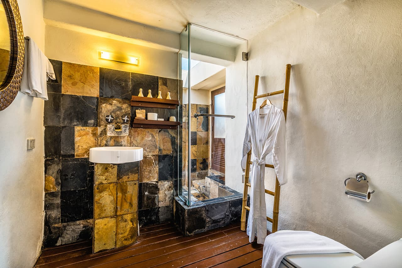 Penthouse Suite Shower and Bathroom - Aleenta Hua Hin Resort