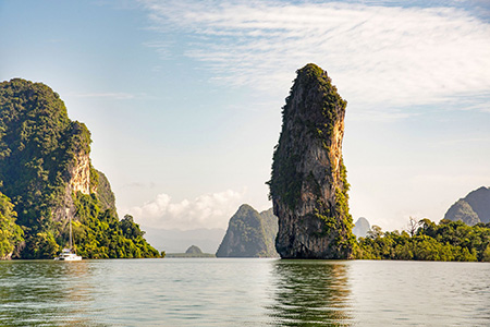 Tour of Phang Nga Bay and James Bond Island