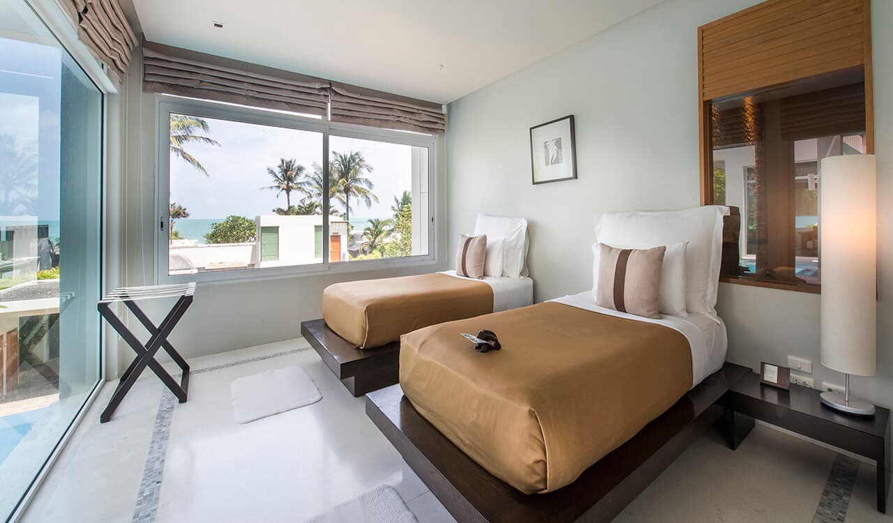 2 Bed Pool Villa Residence - Twin Bedroom - Aleenta Phuket Resort & Spa
