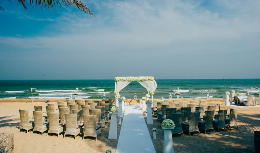 Weddings in Pranburi Hua Hin - Aleenta Hua Hin Resort