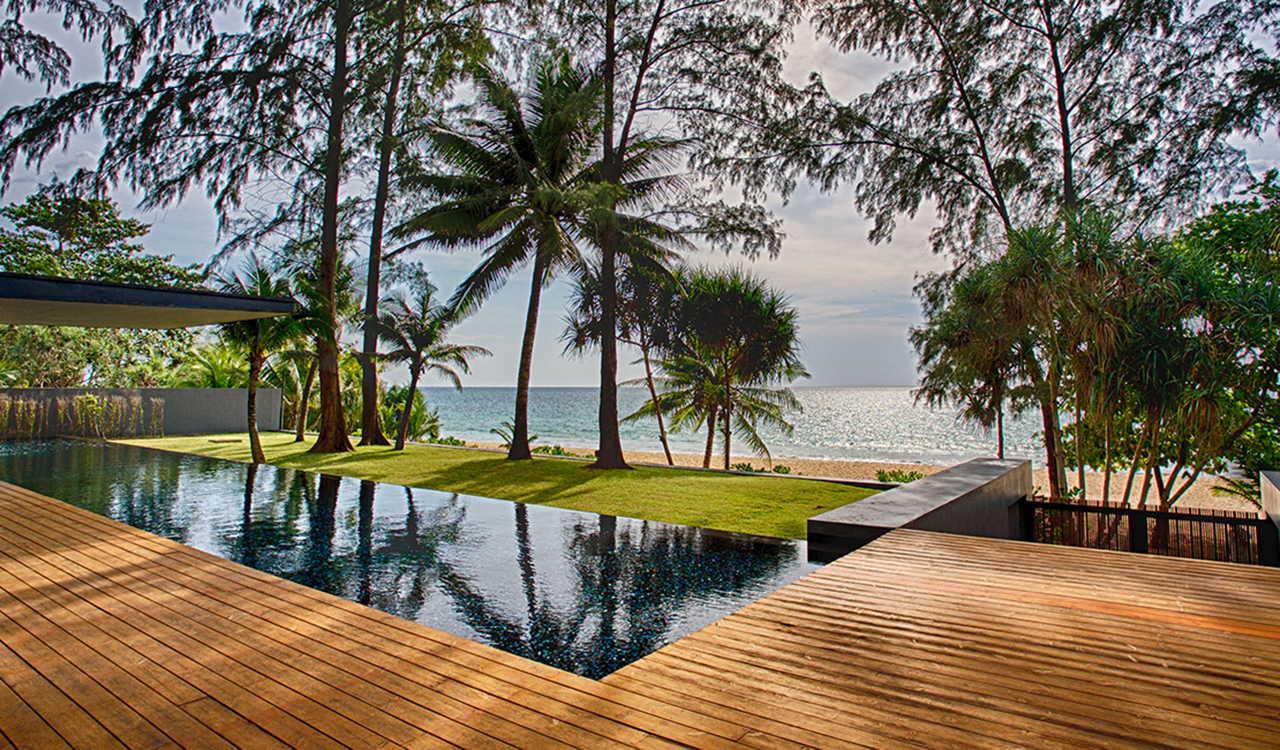Aleenta Phuket Resort & Spa - Grand Villa Noi with private pools and beachfront access