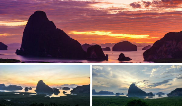 Samet Nangshe Viewpoint in Phang Nga