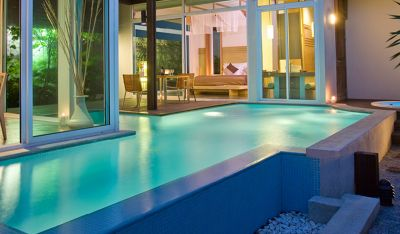 Indoor pool villa  Luxury One Bed Villa with Private Pool - Aleenta Phuket Resort & Spa
