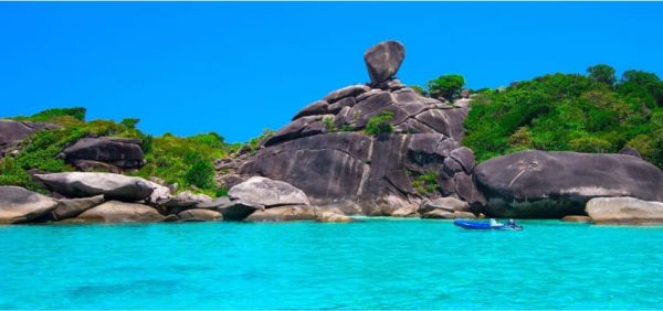 Similan Islands in Phang Nga